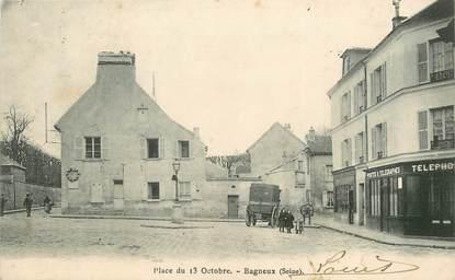 """/ CPA FRANCE 92 """"Bagneux, place du 13 Octobre"""""""