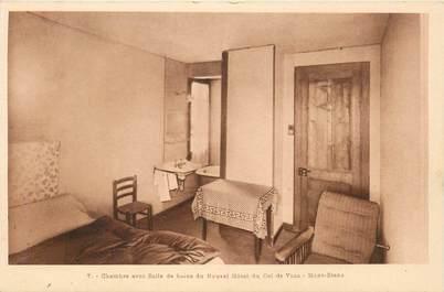 "CPA FRANCE 74 ""Col de Voza, Chambre du Nouvel Hotel"""