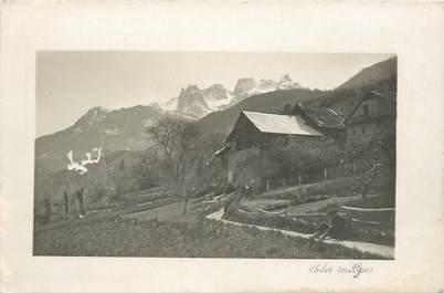 "CPA FRANCE 74 ""Chalet des Alpes"""
