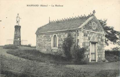 "CPA FRANCE 69 ""Marnand, la Madone"""