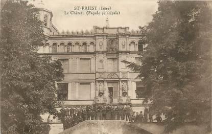 """CPA FRANCE 69 """"Saint Priest, le chateau"""""""