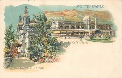 "CPA FRANCE 06 ""Monte Carlo"" / GRUSS"