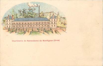 """CPA FRANCE 61 """"Imprimerie de Notre Dame de Montligeon"""" / GRUSS"""