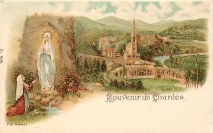 """CPA FRANCE 65 """"Lourdes"""" / GRUSS"""