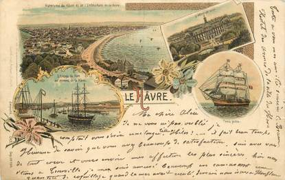 """CPA FRANCE 76 """"Le Havre"""" / GRUSS"""