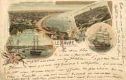 "76 Seine Maritime CPA FRANCE 76 ""Le Havre"" / GRUSS"