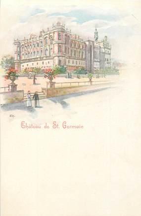 """CPA FRANCE 78 """"Saint Germain"""" / GRUSS"""