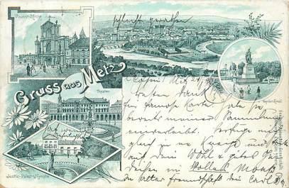 "CPA FRANCE 57 ""Metz"" / GRUSS 1897"