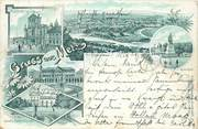 """57 Moselle CPA FRANCE 57 """"Metz"""" / GRUSS 1897"""