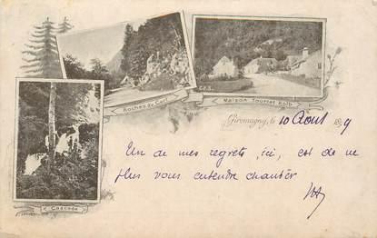"CPA FRANCE 90 ""Giromagny"" / GRUSS 1899"