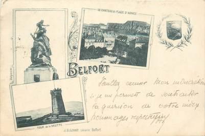 "CPA FRANCE 90 ""Belfort"" / GRUSS 1899"