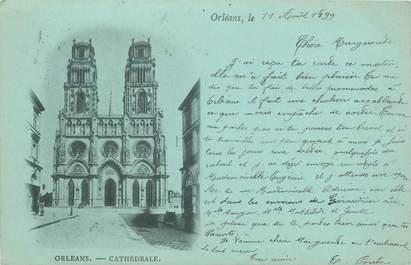 """CPA FRANCE 45 """"Orléans"""" / BLEU A LA LUNE"""