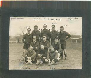 "PHOTOGRAPHIE ORIGINALE / SPORT ""Football Club 1928"""