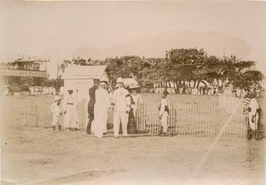 "PHOTOGRAPHIE ORIGINALE / MADAGASCAR ""Tamatave, courses 1904"""