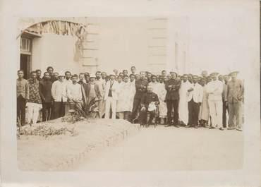 """PHOTOGRAPHIE ORIGINALE / MADAGASCAR """"Le Personnel de l'Imprimerie officielle"""""""