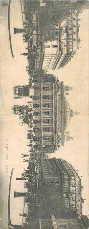 "CPA PANORAMIQUE FRANCE 75 ""Paris, Opéra"""