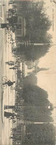 """CPA PANORAMIQUE FRANCE 75 """"Paris, Place de la République"""""""