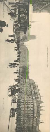 """CPA PANORAMIQUE FRANCE 75 """"Paris, Place de l'Hotel de Ville"""""""