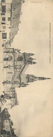 """CPA PANORAMIQUE FRANCE 56 """"Saint Anne d'Auray, la Basilique"""""""