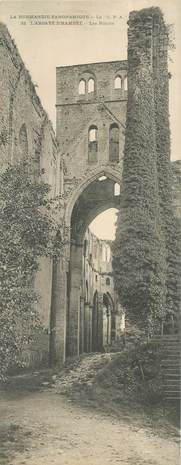 """CPA PANORAMIQUE FRANCE 50 """"L'Abbaye d'Hambye"""""""