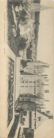 """CPA PANORAMIQUE FRANCE 37 """"Langeais, le chateau"""""""