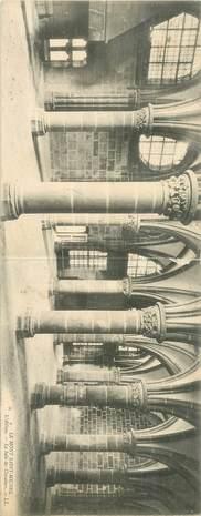 """CPA PANORAMIQUE FRANCE 50 """"Le Mont Saint Michel, l'Abbaye"""""""