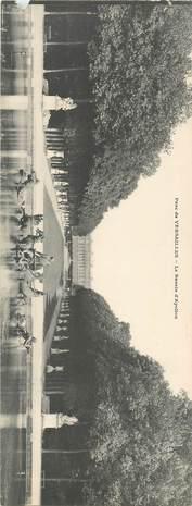 """CPA PANORAMIQUE FRANCE 78 """"Versailles, le Parc et le Bassin d'Apollon"""""""
