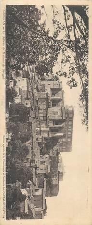 """CPA PANORAMIQUE FRANCE 26 """"Grignan, le chateau de Mme de Sévigné"""""""