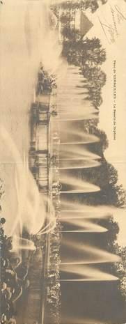 """CPA PANORAMIQUE FRANCE 78 """"Versailles, le bassin de Neptune"""""""
