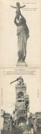 """CPA PANORAMIQUE FRANCE 80 """"Albert, le clocher de ND de Brebières"""""""