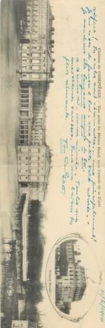"""CPA PANORAMIQUE FRANCE 60 """"Chateau de Compiègne"""""""