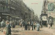 """75 Pari CPA FRANCE 75020 """"Paris, Rue Ménilmontant, à la hauteur de la rue de la Mare"""" / Collection TOUT PARIS / COLORISÉE"""