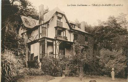 """/ CPA FRANCE 91""""Chalo Saint Mars, la croix Guillaume"""""""