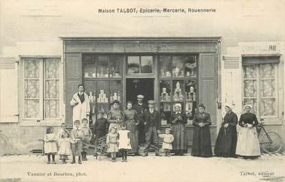 "CPA FRANCE 41 ""Maison Talbot, Epicerie Mercerie Rouennerie"""