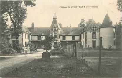 "CPA FRANCE 21 ""Montigny sur Aube, le chateau"""
