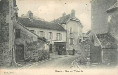 "CPA FRANCE 78 ""Davron, rue de Wideville"""