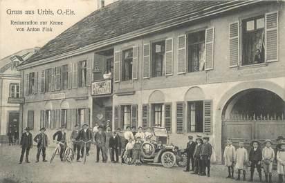 """CPA FRANCE 68 """"Gruss aus Urbis, Restaurant"""""""