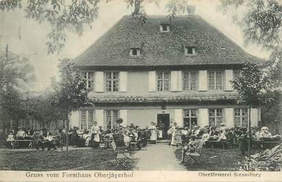 """CPA FRANCE 68 """"Gruss vom Forsthaus Oberjägerhof"""""""