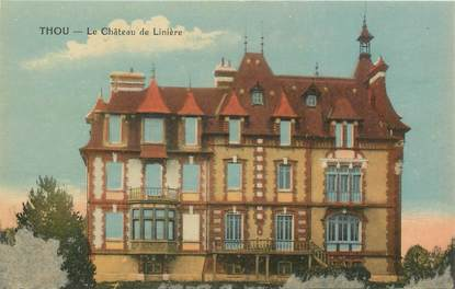 """CPA FRANCE 45 """"Thou, le chateau de Linière"""""""