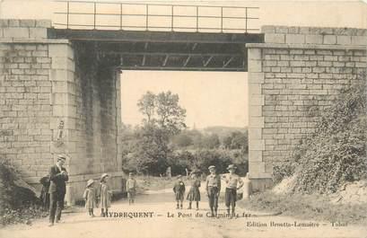 """CPA FRANCE 62 """"Hydrequent, pont du chemin de fer"""""""