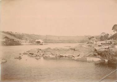 """PHOTOGRAPHIE ORIGINALE / MADAGASCAR """"Pont de Mangoro"""""""