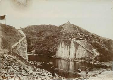 """PHOTOGRAPHIE ORIGINALE / MADAGASCAR """"Pont d'Ankarefo"""""""