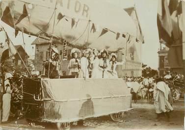 """PHOTOGRAPHIE ORIGINALE / MADAGASCAR """"Fête des Fleurs 1903"""""""