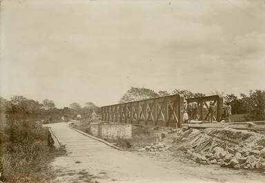 """PHOTOGRAPHIE ORIGINALE / MADAGASCAR """"Pont de Maromby"""""""