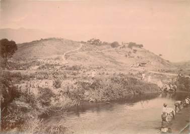 """PHOTOGRAPHIE ORIGINALE MADAGASCAR """"Chantier de la Mandraka"""""""