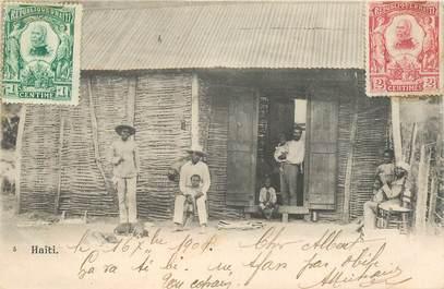 """CPA HAITI """"Habitation"""""""