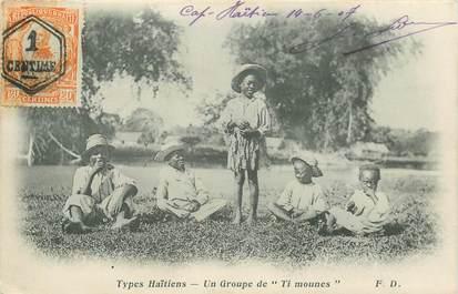 "CPA HAITI ""Groupe d'enfants"""