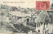 """Antille CPA HAITI """"Village dans les Mornes"""""""