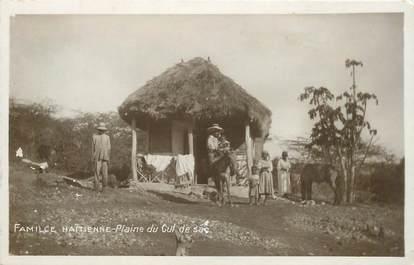 """CPA HAITI """"Famille à la Plaine du Cul de Sac"""""""