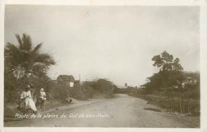 """CPA HAITI """"Route de la Plaine du Cul de Sac"""""""